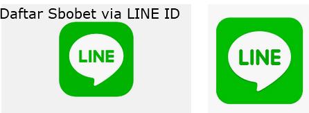 daftar sbobet via LINE ID